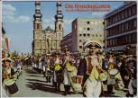 AK Foto Mainz Karneval Fassenacht Ortsansicht Menschen 1970