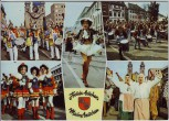 AK Mehrbild Mainz Karneval Fassenacht MCC-Kapelle Tanzmariechen ... 1970
