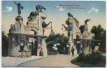 VERKAUFT !!!   AK Hamburg-Stellingen Hagenbeck's Tierpark Haupteingang 1910