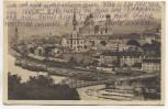 AK Passau Donaupartie mit Dampfer 1911