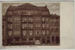 AK Wiesbaden Hotel Restaurant Kronprinz Taunusstraße 1920 RAR