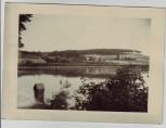 AK Foto Hainspitz am See Ortsansicht vom See aus Kr. Eisenberg Thüringen 1960