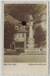 AK Foto Suhl Waffenschmiedbrunnen Thüringen 1940