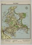 AK Phönix Wanderkarte Insel Rügen 1940