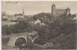 AK Rastenburg Kętrzyn Kirche mit Brücke und Gleis Ostpreußen Polen 1910