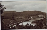 AK Foto Frankenhain (Geratal) Blick zur Lütschetalsperre Thüringen 1957