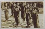 AK Foto Schierke Skiwettkämpfe der NS-Gliederungen Brigade 59 Brigadeführer Bischoff Harz 1938 RAR