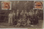 AK Foto Truskawez Truskawiec Трускавець Gruppenfoto Judaica Ukraine 1925 RAR