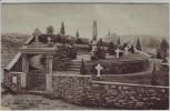 AK Golzern an der Mulde Friedhof mit Denkmal für verstorbene Kriegsgefangene bei Nerchau Grimma 1920