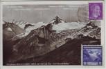 AK Foto Zell am See Berghotel Schmittenhöhe Salzburg Österreich mit Spendenmarke DJH Schafft Jugendherbergen 1942 RAR
