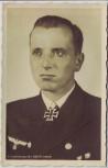 AK Foto Korvettenkapitän Kretschmar Ritterkreuzträger 2.WK 1942