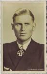 AK Foto Kapitänleutnant Schepke Ritterkreuzträger U-Boot Kriegsmarine 2.WK 1942 RAR