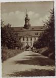 AK Foto Schloß Lichtenwalde Anfahrt bei Niederwiesa 1958