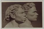 AK Foto Berlin Mitte Museum für deutsche Geschichte Clara-Zetkin-Str. 26 Innenansicht Altmensch und Neumensch der Steinzeit 1955