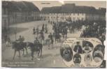 VERKAUFT !!!   AK Hoyerswerda Markt Osterreiter Gruss aus dem Wendenlande Postrow ze Serbow Sorben Trachten 1915