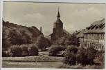 AK Foto Stadt Benneckenstein (Harz) Ortsansicht mit Kirche bei Oberharz am Brocken 1958