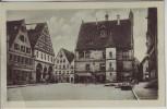 AK Weißenburg in Bayern Kirche mit Hotel zur goldenen Rose 1920