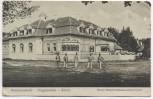 AK Hermannstadt Sibiu Nagyszeben Neues Waldwirtshaus Rückansicht mit Soldaten Siebenbürgen Rumänien Feldpost 1919 RAR