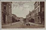 AK Landau in der Pfalz Glacisstraße mit Oldtimer Feldpost 1915