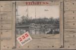 AK Eilgruss Harburg Hafen Hamburg 1902