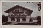 AK Foto Bad Wiessee Wiesseer Schmuckkästchen Sport- und Modehaus Stecher 1940