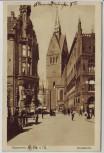 AK Hannover Marktkirche mit Menschen 1913
