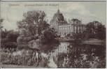 AK Hannover Provinzial-Museum und Maschpark 1907