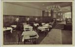 AK Hannover Mittlerer Raum des Restaurants Hackerbräu gegenüber Hauptbahnhof 1935 RAR