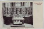 AK Gruss aus Gronau in Hannover (Leine) Altar der St. Matthäi-Kirche 1900