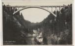 AK Foto Echelsbacher Hochbrücke Brücke bei Rottenbuch Bayern 1930