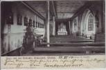 AK Wittlich Gruss von der Heilstätte Grünewald Inneres der Kapelle 1904