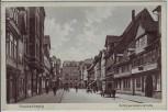 AK Braunschweig Schöppenstedter Straße mit Menschen 1931 RAR