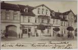 AK Bad Sulza Hotel Weimarischer Hof mit Menschen 1912 RAR