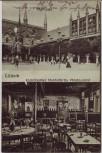 AK Lübeck Kulmbacher Reichelbräu Restaurant und Rathaus 1909