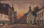 AK Werden a. d. Ruhr Ruhrstrasse mit Rathaus Essen ca. 1910