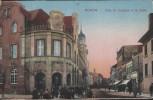 AK Düren Kaiserliches Postamt mit Kölnstraße viele Menschen 1924