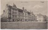 AK Torgau Markt mit Rathaus 1910