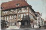 AK Göttingen Junkerhaus mit Jüdenstrasse Weinhandlung Herm. Mütze Judaika 1921