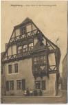 AK Magdeburg Altes Haus in der Kreuzgangstraße Feldpost 1915