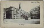 AK Gruss aus Riga Rīga Blick auf das Rathaus Lettland 1900
