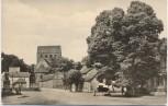 AK Foto Schönhausen an der Elbe Dorfplatz 1964
