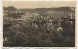 AK Foto Blick auf Jena Bahnpost Naumburg-Saalfeld 1935