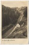 AK Foto Die Hagenmühle unterhalb der Staumauer der Queistalsperre b. Marklissa Leśna Schlesien Polen 1936
