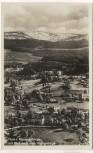 AK Foto Hain im Riesengebirge mit Blick nach dem Hochgebirge Przesieka b. Podgórzyn Schlesien Polen 1935