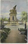 AK Prag Wyschehrad Slavin am Wyschehrader Friedhof Praha 1908