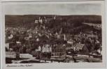 AK Foto Heidenheim an der Brenz Ortsansicht mit Schloss 1953