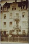 AK Foto Freiburg im Breisgau Hausansicht 1915