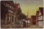 AK Wüstensachsen Hauptstraße mit Geschäft bei Ehrenberg (Rhön) 1930 RAR