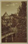 AK Stade Partie an der Insel Niedersachsen 1920