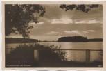 AK Foto Abendstimmung am Horstsee Wermsdorf Sachsen 1935